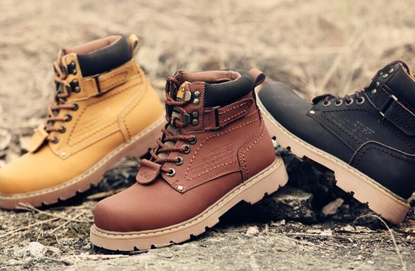 VisMix UNISEX genuine leather autumn winter cotton snow boots casual anti-slip breathable men matin boots women fashion boots snow shoes
