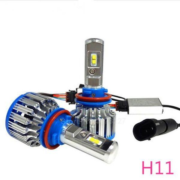 LED Headlight Conversion Kit H11 35W 3500LM Headlamp Replace HID Xenon Kit Auto Bulb Lamp Light Free shopping