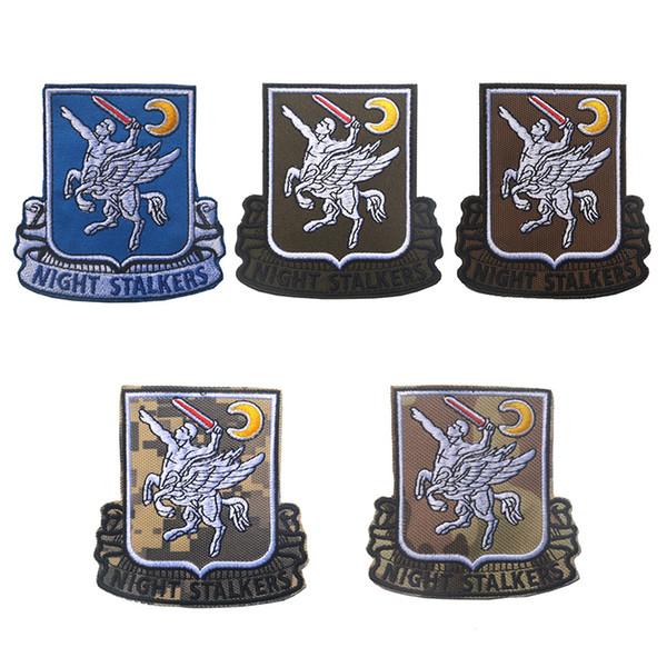 50 PCS U.S.Army 160th Operações Especiais do Regimento de Aviação SOAR Morale Remendo Emblema Tático HookLoop Bordado Emblema Atacado navio livre