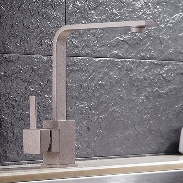 Free shipping Senducs sanitary ware with single handle kitchen sink faucet of brass kitchen mixer tap by chrome water faucets
