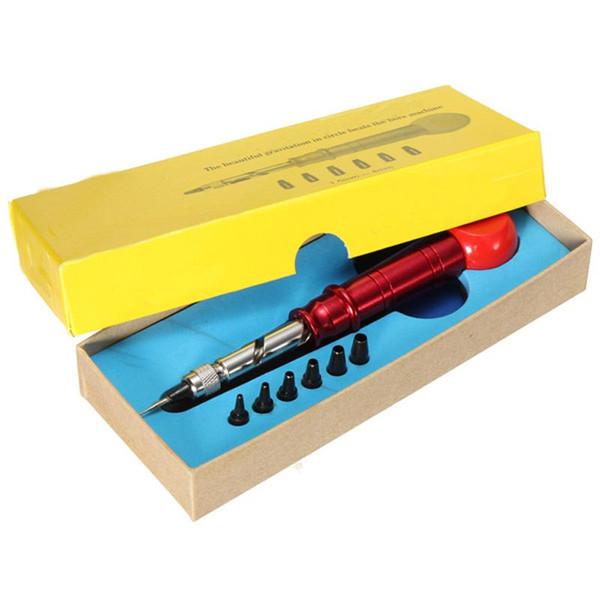 Excellente Qualité En Cuir PC WatchBand Sangle Trou Puncher Punch Lien Montre Outil De Réparation 1.5mm-4mm Pour Horloger