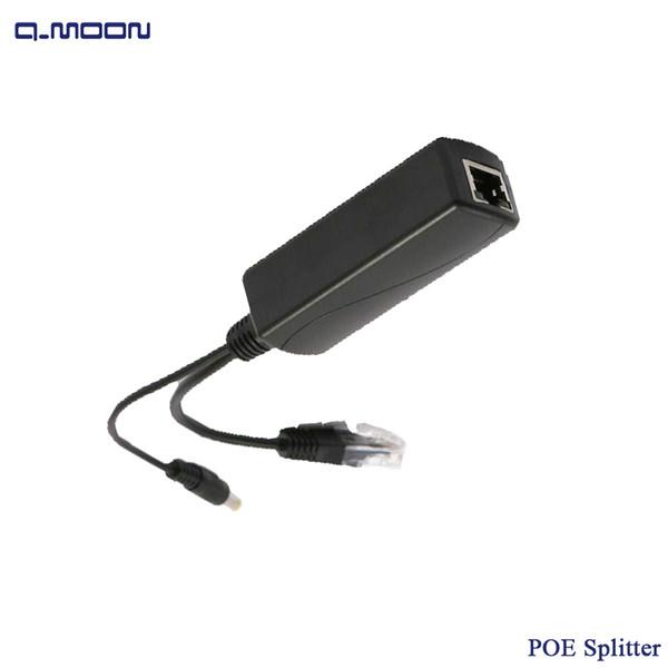 IEEE802.3AF Standart 12 V 2A Çıkış 10/100 M PoE Splitter lan Konektörü Güç Ethernet IP Kamera için