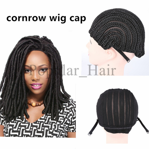cornrows cap net elastic dome wig cap glueless hair net liner crochet braid wig caps for weaving cap cornrow wig black women
