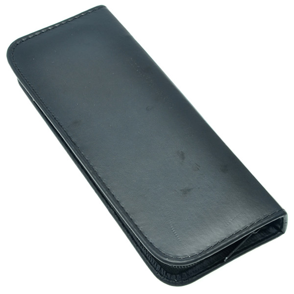 Package for Dog/Pet Black PU Leather Case Professional Pet Scissors Bag Case Hold 1pcs Shear Zipper Holster Pouch Holder,LZN0032