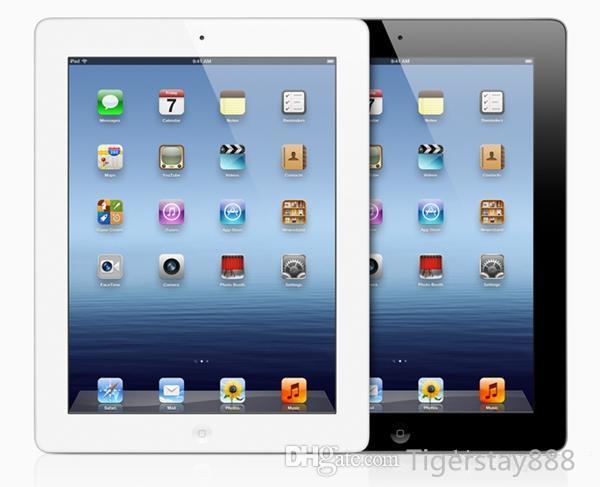 iPad 3 сотовый отремонтированы, как новый оригинальный Apple iPad3 16GB 32GB 64GB Wifi 3G планшетный ПК 9.7 inch Китай Оптовая DHL