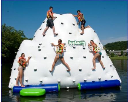 top popular Factory Outlet 6mL x 5mW x 5mH Iceberg Climbing Inflatable Water Games, Adults Inflatable Floating Iceberg 2021