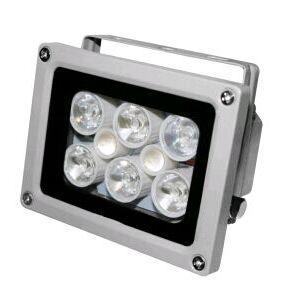 High Lighting Waterproof 50m DC 12V 2A illuminator Fill Assist Night Vision infrared 8 LED IR Lights for CCTV Security Camera
