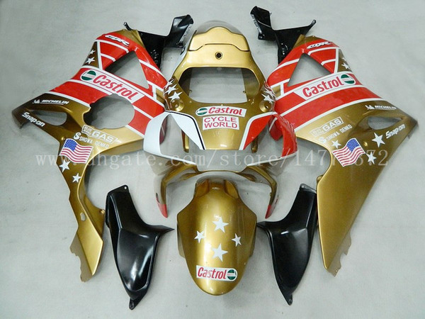 fairings+gifts fit for HONDA CBR900RR 954 2002-2003 CBR900RR 02-03 CBR900 RR 2002-2003 954 fairing kits #h8m34 gold