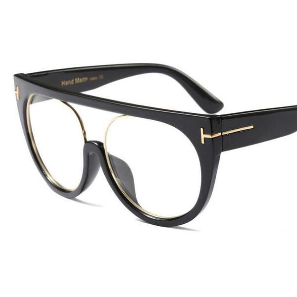 C2 Glossy Black Frame Clear Lens