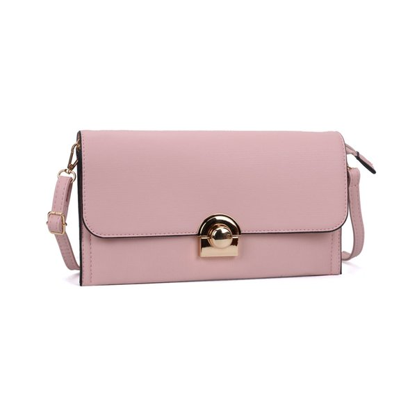 Socialit Dress Lady Envelope Clutch Bag Wallets Holders Shoulder Strap Ring PU Women Hasp Zipper Fashion Phone Bag Evening Bag VKP5306