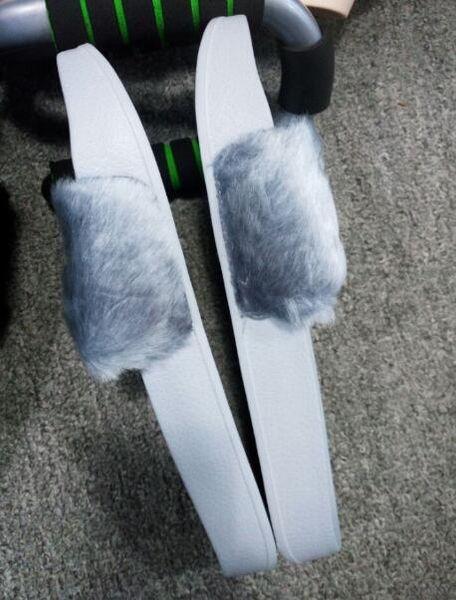 Nouveau RIHANNA LEADCAT FENTY Slipper, Sacs à poussière + Boîte