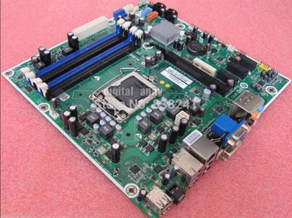 Desktop-Motherboard 575765-001 Iona-GL8E Iona GL8 MS-7613 VER 1.1 H57 Sockel 1156 DDR3 VGA DVI-Anschluss