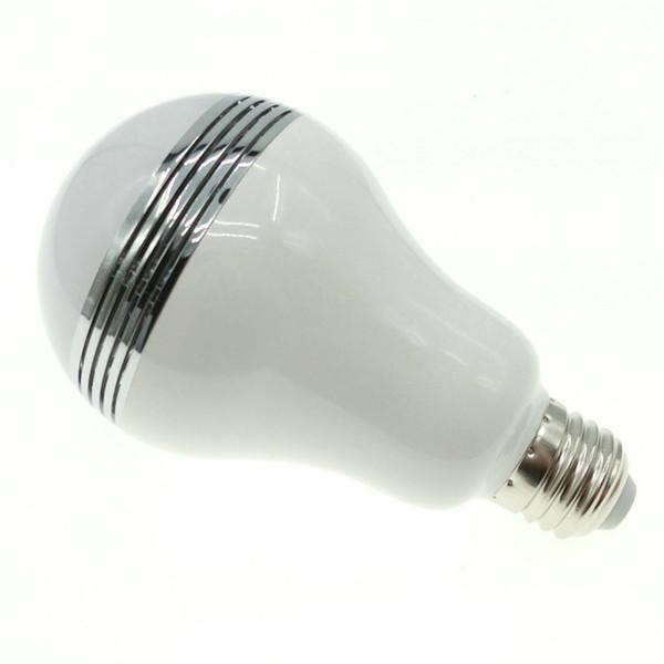 Lámpara Smart De Interior Compre Luz Música RGB Portátiles De Cambio Bluetooth LED Altavoces Inalámbrico Bombilla Bulb Audio Con De E27 De De Mini De 1JlK5uFcT3