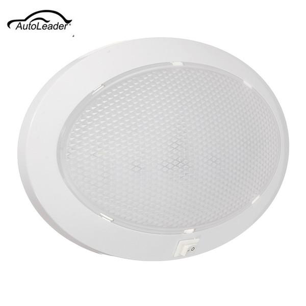 1pcs 4.2w LED plafonnier plafonnier plafonnier cristal de voiture intérieur de voiture pour caravane / camping-car / voiture