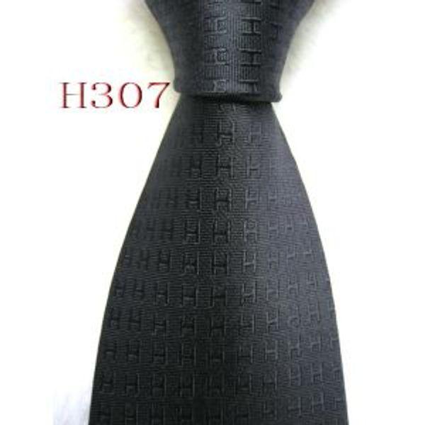 High quality Men Classic Ties 100% Silk Jacquard Woven Handmade Men's Tie Necktie for Men Wedding Casual and BusinessH307