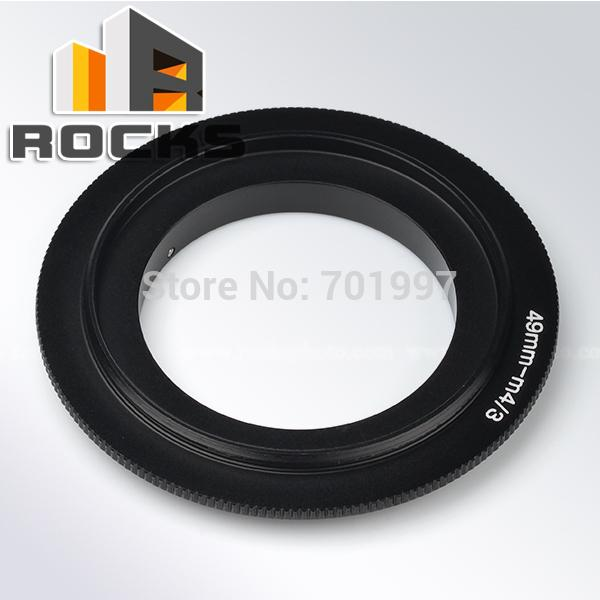 Wholesale- Macro Reversing Adapter Ring 49mm lens work for Mirco Four Thirds m4/3