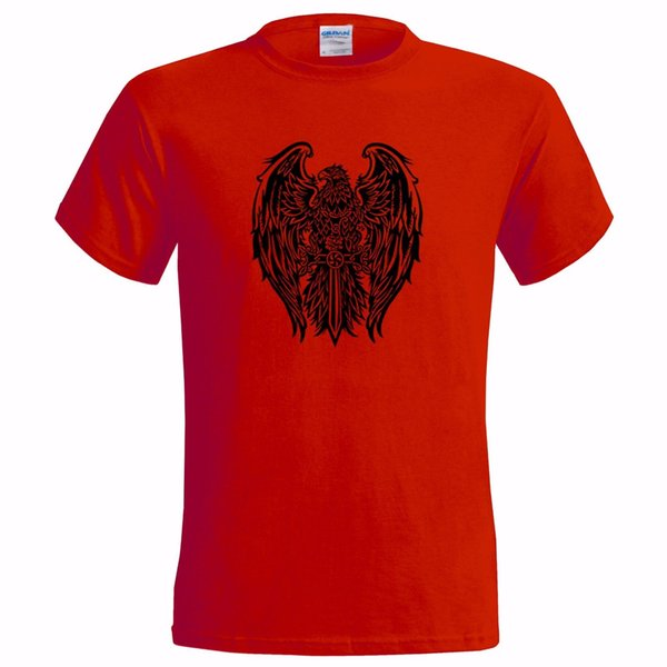 ARMENIAN EAGLE SWORD CROSS EMBLEM MENS T SHIRT ARMS ARMENIA TATTOO STYLEFunny free shipping Unisex Casual top