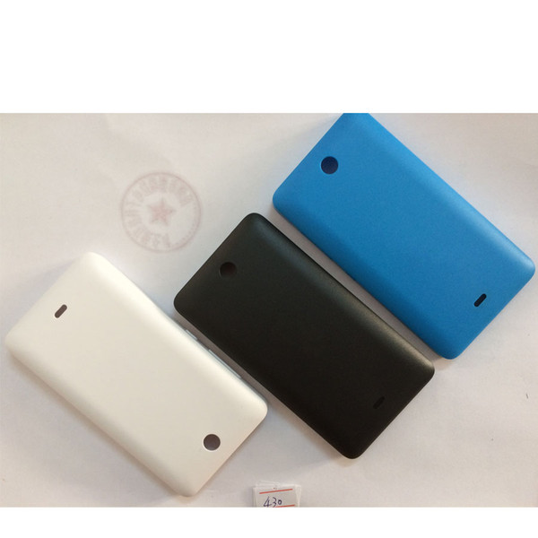 For Microsoft Lumia 430 Dual SIM Battery Back Cover Housing Smartphone Replacements Case For Lumia 430 Dual SIM Shells Capa
