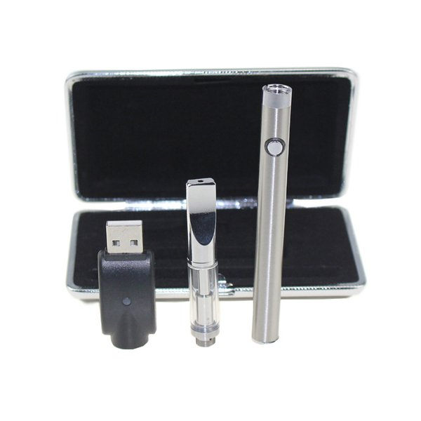 Bud Touch CE3 Manual Battery Glass Atomizer Box Starter Kits 280mAh Battery Oil Bud Touch Vaporizer atomizer O Pen Vape E cigarette Kit