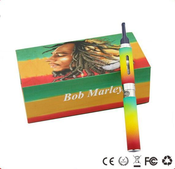 Bob marley dry herb starter kit 650mah vaporizer vape pens wax Dry herb atomizer fit for ego-t battery