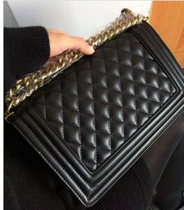 2018 new Classic Leather black gold chain Free shipping hot sell Wholesale retail new bags handbags shoulder bags tote bags messenger bag