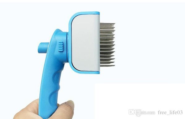 Pet Supplies Comb For Dogs Pet Cat Fur Hair Grooming Cat Comb Dog Hair Shedding Hair Tool Brush Products For Animals Trimmer