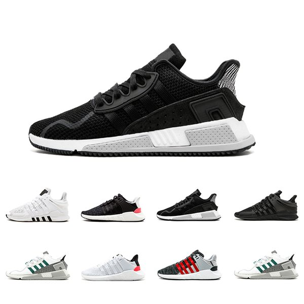 2018 EQT 93 17 shoe Support Future black white pink Blue Grey Coat of Arms Pack Men women Black White casual sports Sneaker
