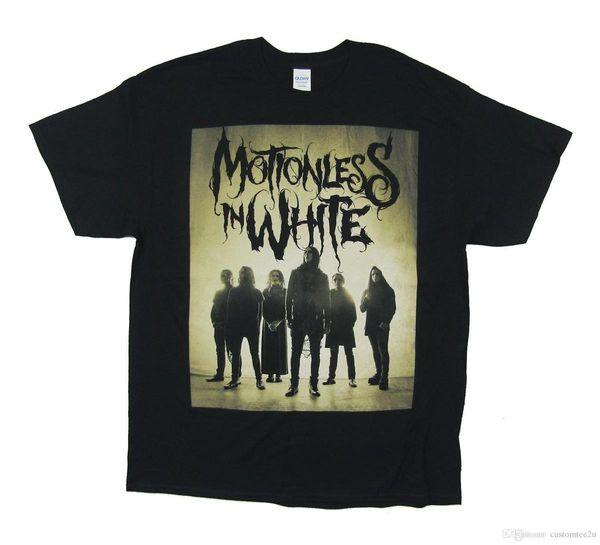 8cf6077aa290b Camiseta de Graveyard Shift en negro Nueva camiseta oficial Camiseta de  hombre de manga corta blanca