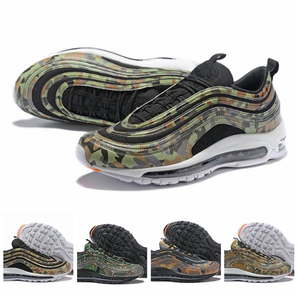 cheap explore cheap sale best prices 2018 New 97 Country Camo Pack USA UK France Germany Italy Bullet Mens Running Shoes Sports High Quality 3M Premium Zoom Sneakers 40-46 cheap sale order choice cheap online FWS3Mjahq2