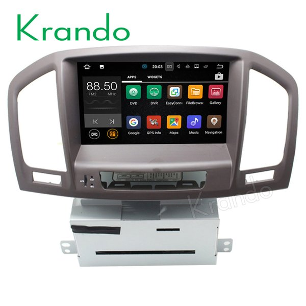 "Krando 8"" Android 8.0 car dvd radio navigation multimedia system for Opel Insignia 2008-2013 audio radio gps dvd palyer WIFI 3G DAB+"