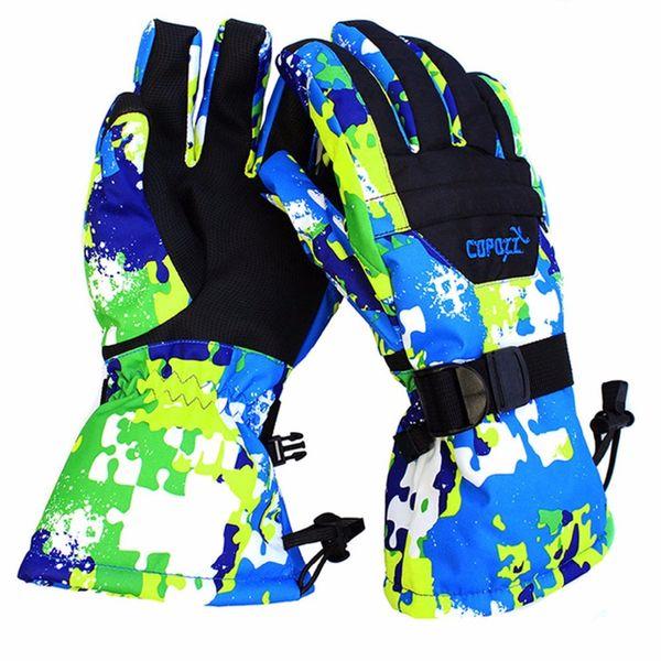 COPOZZ men women boy girl chidren kids ski gloves Snowboard Gloves Motorcycle Winter Skiing Climbing Waterproof Snow Gloves C18111501
