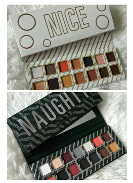 best selling New Hot Makeup Naughty or Nice Eyeshadow Palette for Christmas Gift 14colors Eye shadow Palette Choose Your Palette DHL shipping+Gift