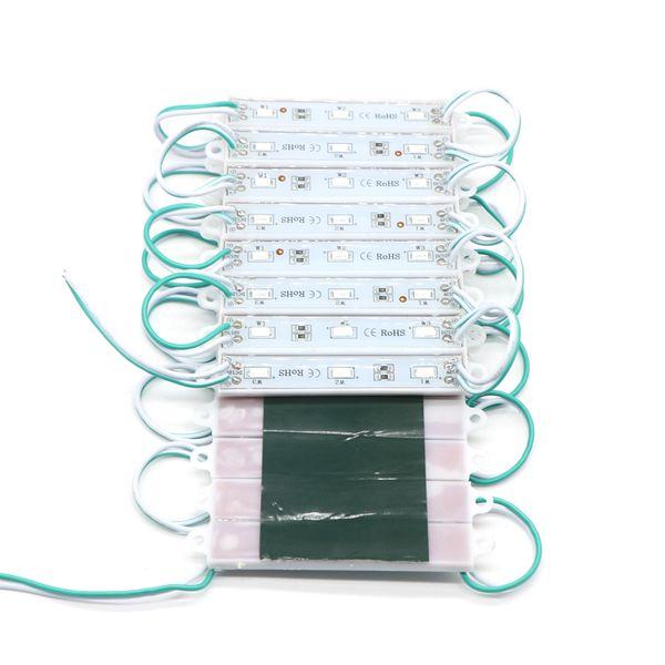 Compre Dc12v 5630 Módulos 3leds Led Módulos De Retroiluminación Led De Señalización Ip65 A Prueba De Agua Módulos De Caja De Luz Publicitaria Para