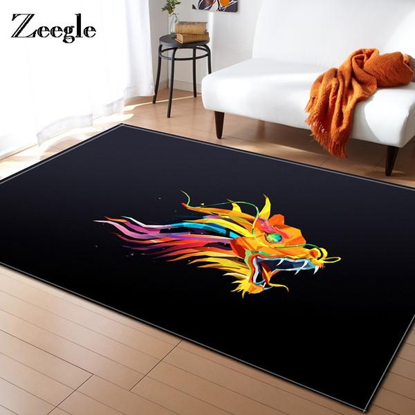 Großhandel Zeegle Farbe Block Wohnzimmer Teppich Baby Chiid ...
