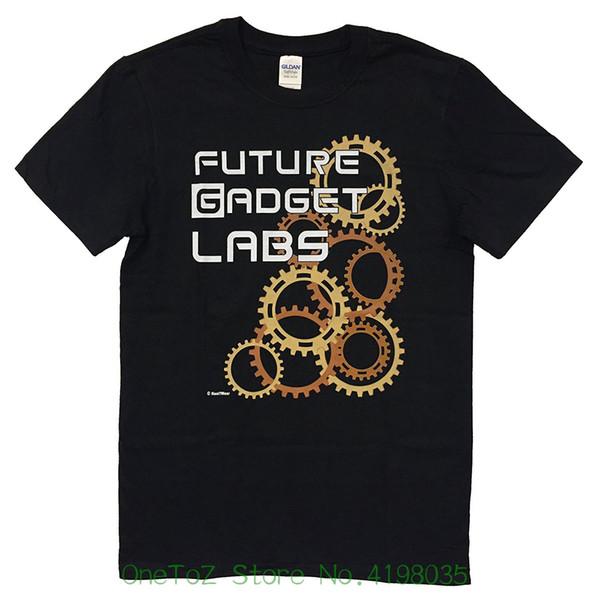 Nani ? Wear Anime Steins ; Gate Geek T shirt Future Gadget Lab Cotton T shirt Fashion Free Shipping