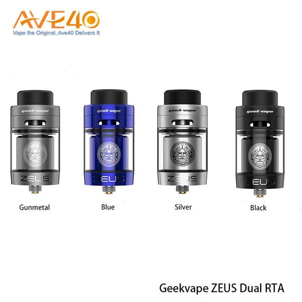 Geekvape Zeus X RTA 4,5 ml di capacit/à del serbatoio con 810 Delrin punta a goccia Atomizzatore sigaretta elettronica