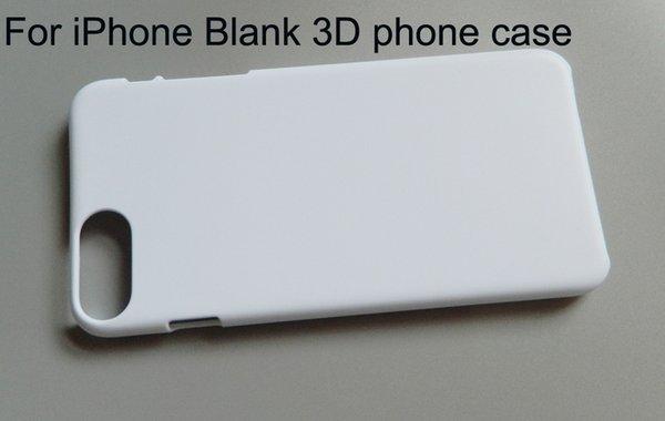 Boş Sublime telefon kılıfı için iPhone X XR XS Max 5 6 7 8 artı 3d Sert PC baskı telefon kılıfı 10 adet / grup