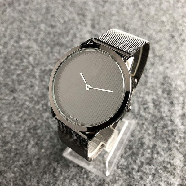 Top fashio Brand Rose Gold Quartz Watch 40mm and 36mm Men's watches Casual Japanese Quartz Watch Stainless Steel Mesh with Slim Clock Ladies