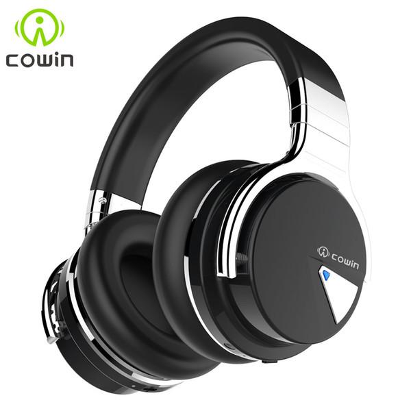 Cuffie stereo Bluetooth originale Cowin E-7 Cuffie stereo con microfono 30 ore di riproduzione Auricolare wireless di alta qualità