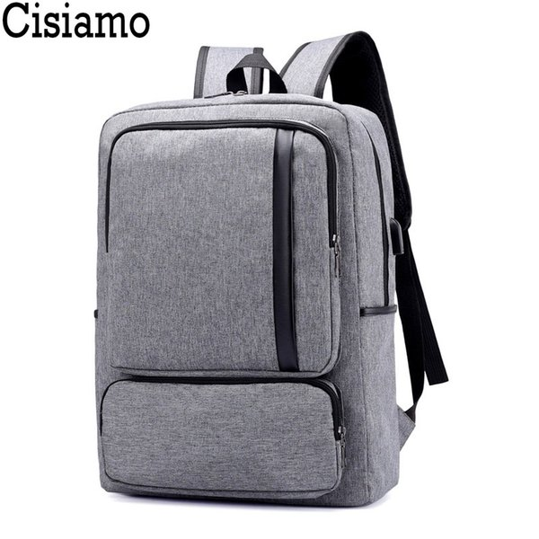 Cisiamo USB Charging Backpack Male Large Capacity Smart