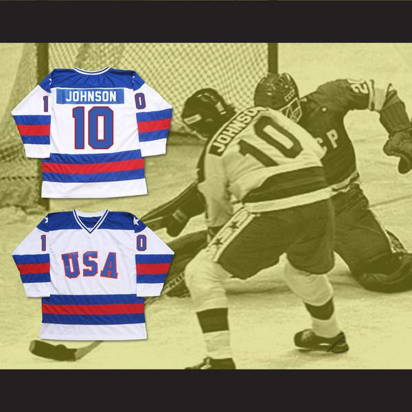 1980 Miracle On Ice Team USA #17 Jack OCallahan #21 Mike Eruzione #10 Mark Johnson Ice Hockey Jersey Mens Stitched Embroidery Hockey Shirts