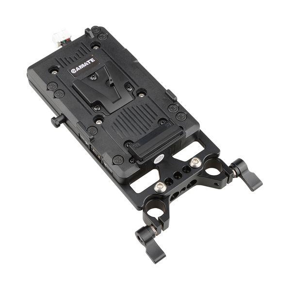 Adaptador de placa de bateria V-lock CAMVATE para URSA Mini