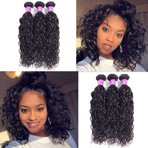 Ushine Peruvian Water Wave Wet And Wavy Hair Bundles Cheap Price Unprcoessed Peruvian Hair Extensions Natural Color No Shedding