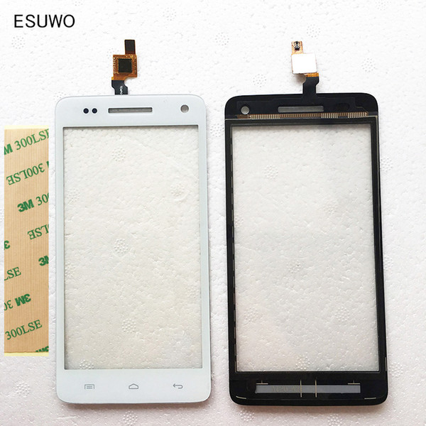 """ESUWO New 5.0"""" Touch Screen For Explay Fresh Touch Screen Sensor Digitizer Front Glass Panel Touchscreen +3m Sticker"""