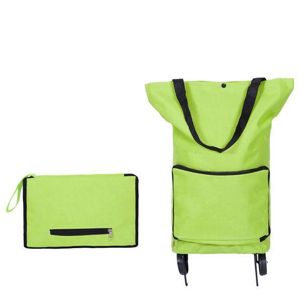 Brand Folding Shopping Bag Shopping Trolley Bag on Wheels Bags on Wheels Buy Vegetables Shopping Organizers Portable Bag