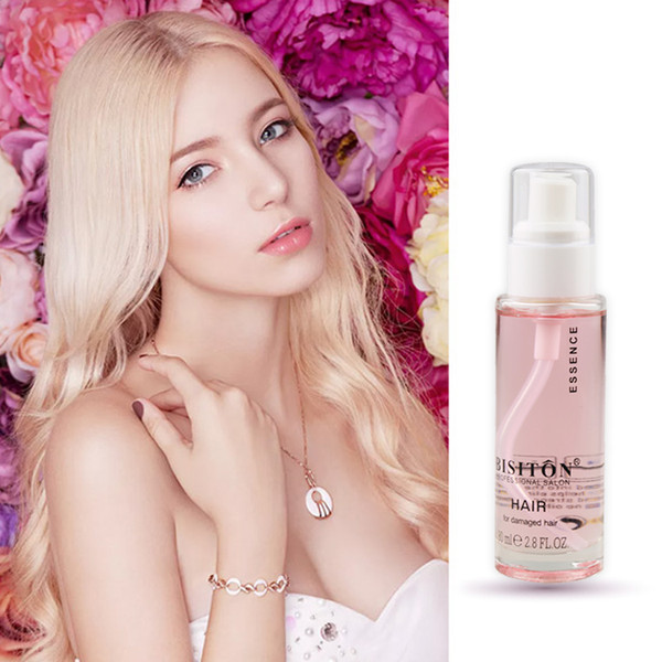 2019 BISTION 2.8 Oz Perfume Hair Care Rose Essentials Oil For Damaged Hair Professional Salon Wholesale Shampoo Conditioner Free Shipping