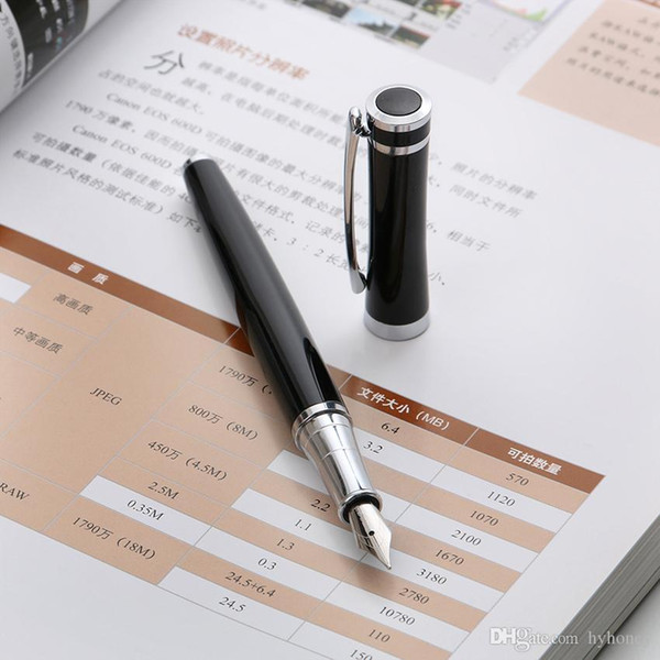 Wholesale- 1 pc Brand Metal Fountain Pen Nib 0.5mm Study Business Office School Stationery Supplies Decor Gifts