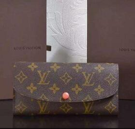 Emilie wallet old flower canvas wallet M61578 WALLETS OXIDIZED LEATHER CLUTCHES EVENING LONG CHAIN WALLETS COMPACT PURSE