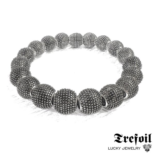 Strand Bracelet Beads Kathmandu, 2018 New Silver Fashion Jewelry Vintage Gift for Men Boy Women Girls Lady