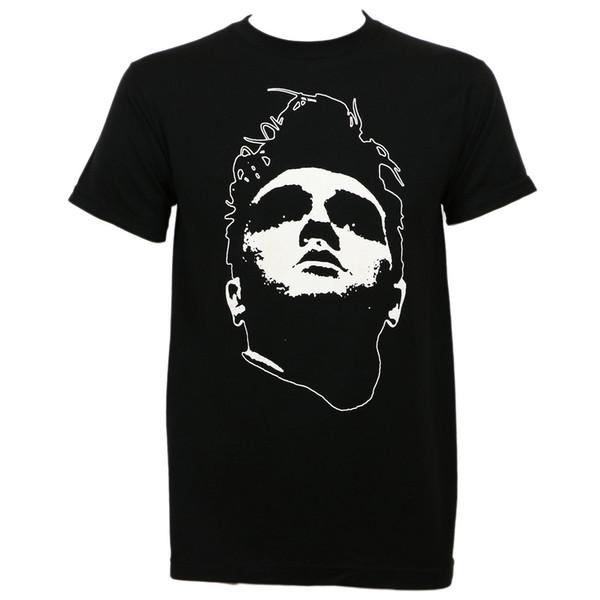 T-shirt slim à coupe ajustée MORRISSEY Head Noir S T